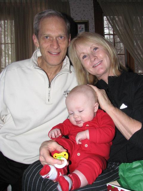 Grandma and Grandpa Lee 12/2009