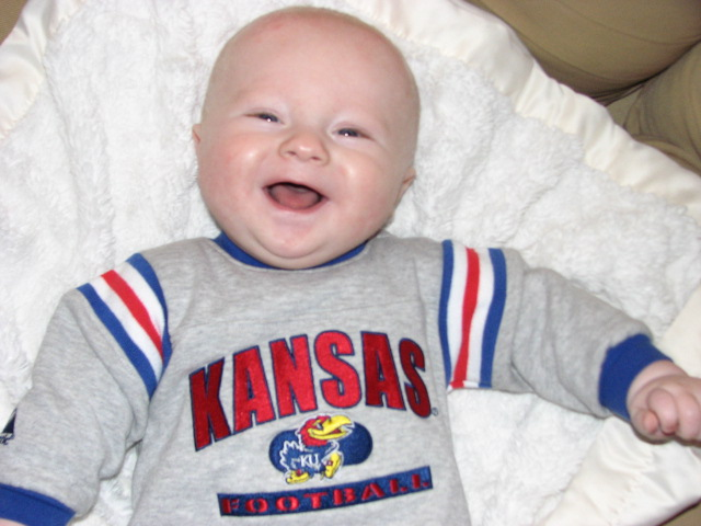 My second cousin goes to KU!