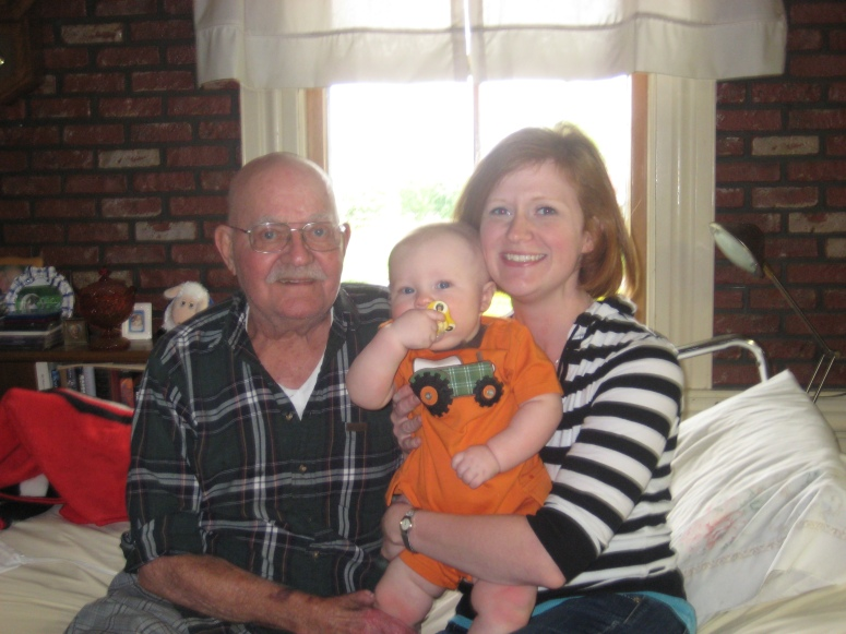 Pap, Simon and me 4/2010